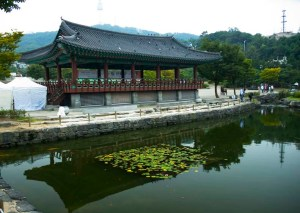 Hanok or a traditional Korean village